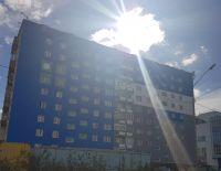 Две жилые многоэтажки на территории «УК «ЖКС – Норильск» заиграли новыми красками