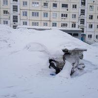 Места складирования снега — это не снежные горки! Кататься с них нельзя!